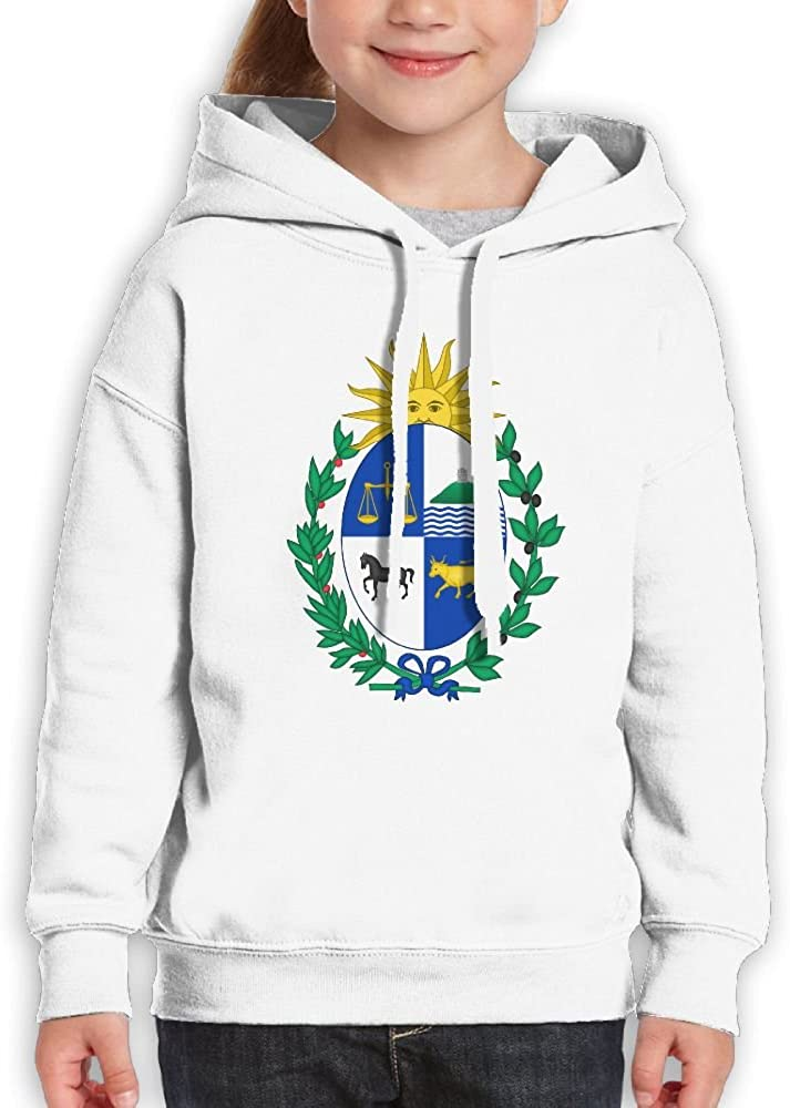 DTMN7 Coat Of Arms Of Uruguay New Style Printed 100/% Cotton Top For Kids Unisex Spring Autumn Winter