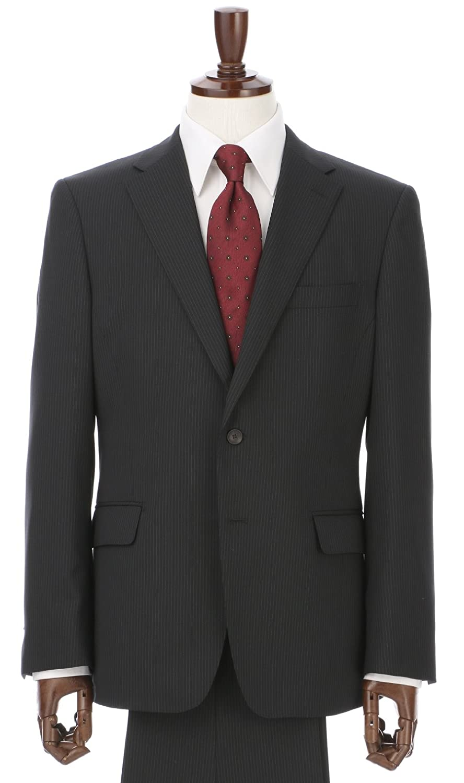 (ヨウフクノアオヤマ) 洋服の青山 (パーソンズ フォー メン) PERSON'S FOR MEN 秋冬用 【ストレッチ】【形状記憶プリーツ】スタイリッシュスーツ A18X4191-93 B07FPXHJH3 AB体(がっちり型)5号(170cm)