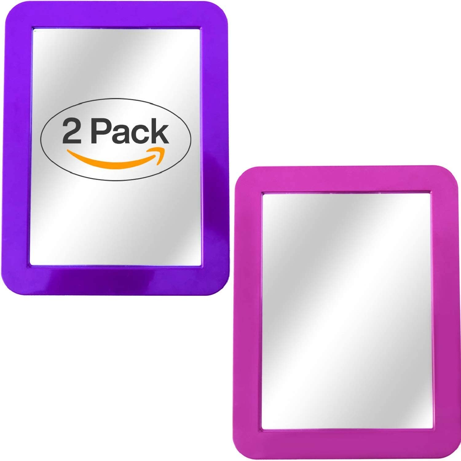 """ideal for school locker 5/""""x 7/"""" available in black or turquoise Magnetic mirror"""