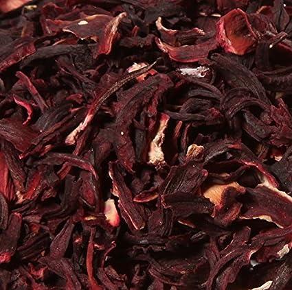 Flores de Hibisco secas Bissap Karkadé Bio 1 kg: Amazon.es: Alimentación y bebidas