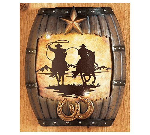 Funky Western Wall Decor Metal Composition - Wall Art Collections ...