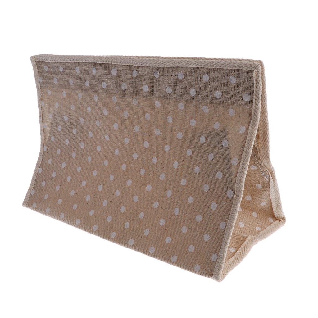 Homyl Hängende Toilettenpapier Aufbewahrung Tasche - Beige, 16 x 22,5 x 25 cm