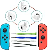 Joy-con Replacement Latches for Nintendo Switch Yoelike Metal Lock Buckles Repair Tools Kit for Nintendo Switch NS Joy Con with Screwdrivers