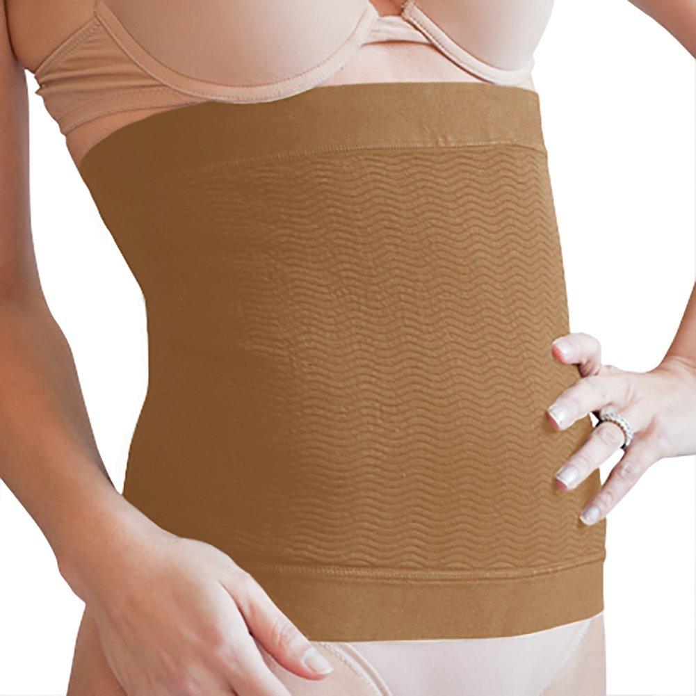 Solidea Women's Active Massage™ Abdominal Band Small Hazelnut