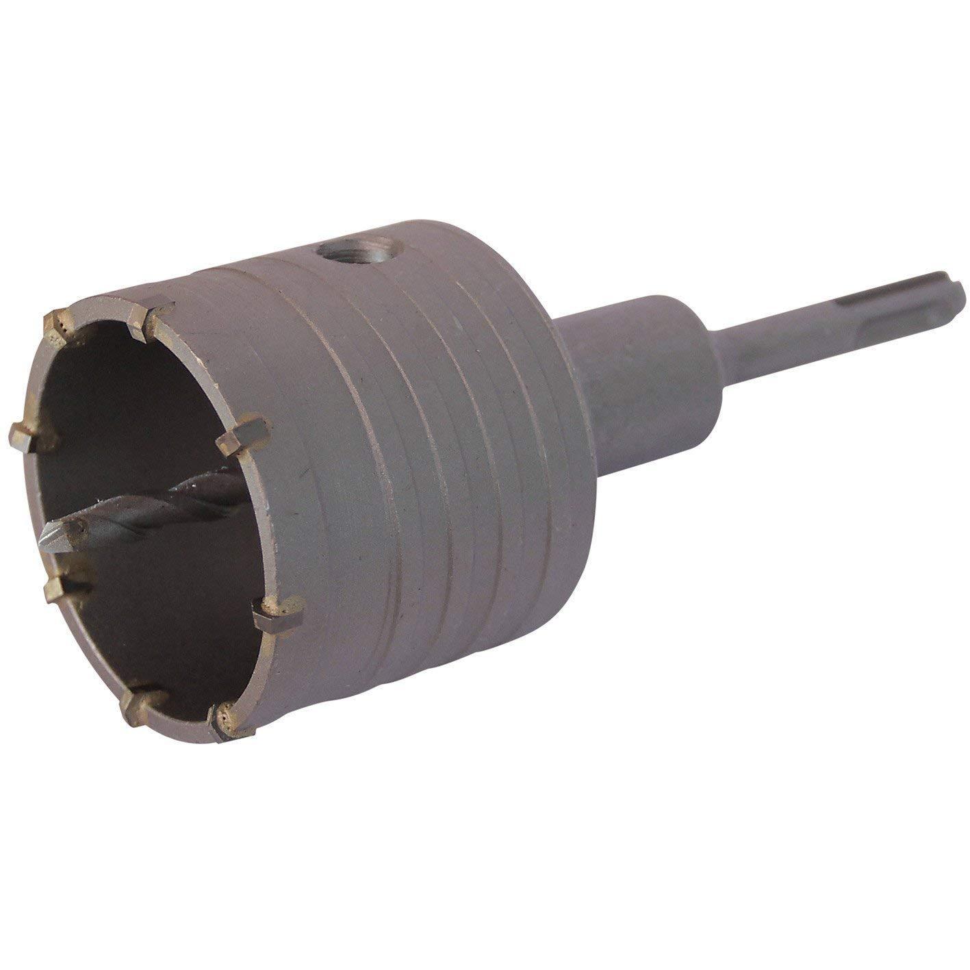 Bohrkrone Dosenbohrer SDS Plus MAX 30-160 mm Durchmesser komplett f/ür Bohrhammer 60 mm SDS Plus 350 mm 7 Schneiden