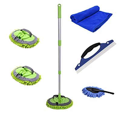 Portable Car Washing Cleaning Rotating Mop (cleaning kit): Health & Personal Care