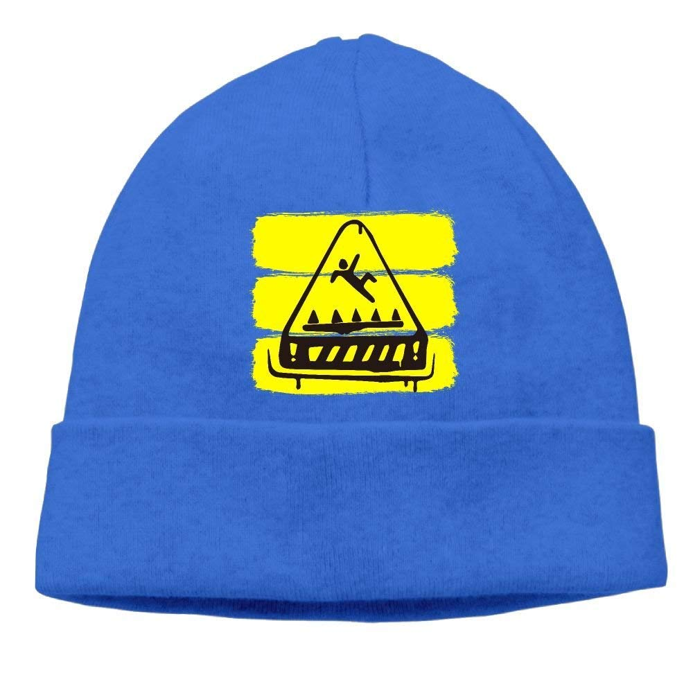 Fortnite Trap Warning Men Unisex Thick Knit Caps Classic Beanie Hats Yutrepler