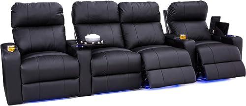Seatcraft Julius Home Theater Seating Big Tall 400 lbs Capacity