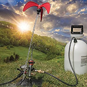 StratoLauncher IV Ultimate 120° Tilting Water Rocket Launcher + StratoFins Kit