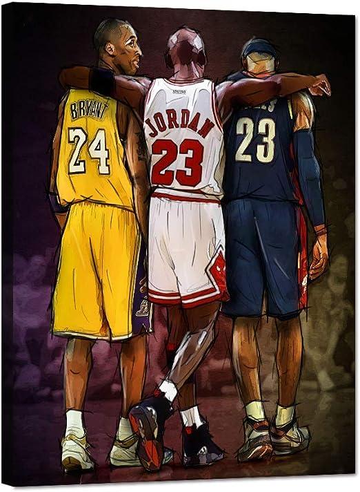 low priced best online nice cheap Amazon.com: Yatsen Bridge Vintage Basketball Painting Posters NBA ...