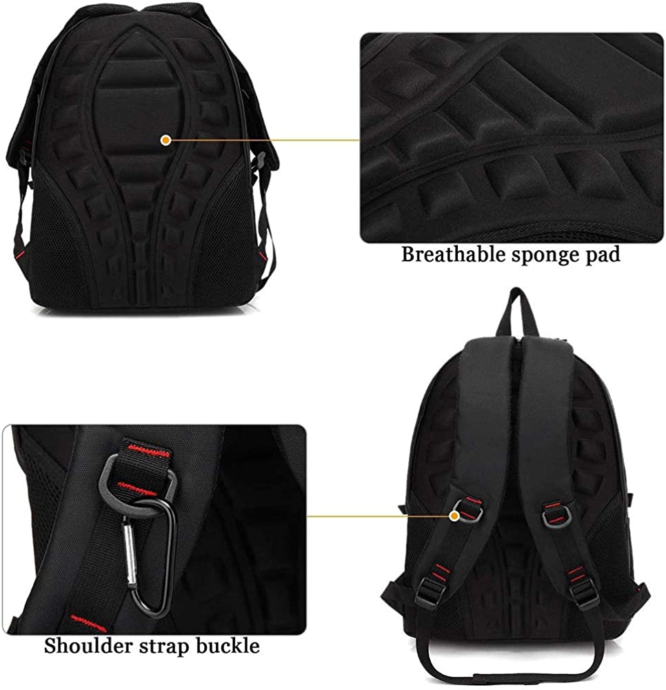 GIM Theft Business Laptop Backpack,Oxford Middle School Student Bag Large Capacity Backpack for Boys Men Women,Brass Theft Backpack