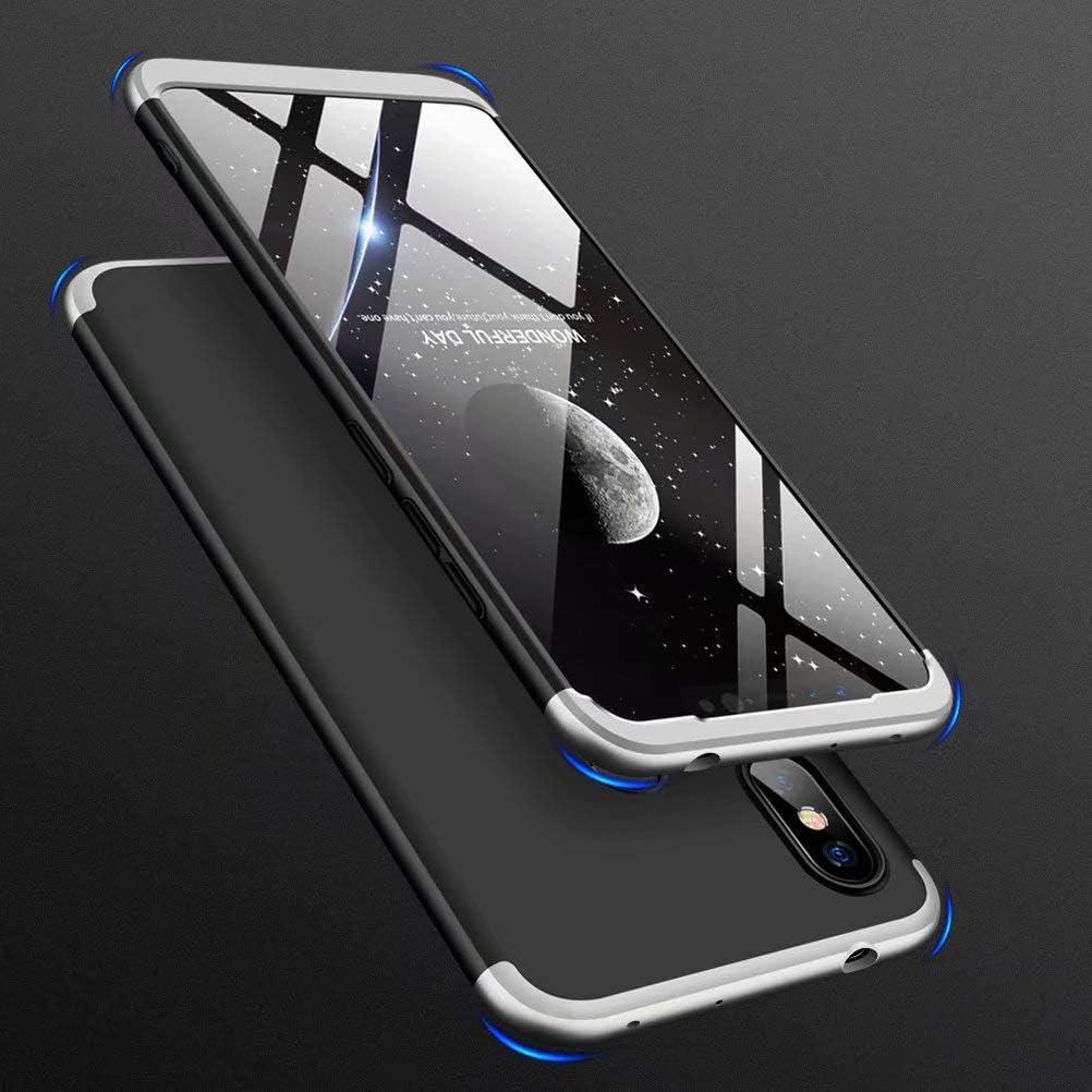 CIRRYS Coque Xiaomi Redmi Note 7//Redmi Note 7 Pro /Étui 360/° Housse PC Hard Shell Anti-Choc Full-Cover Case Scratch Pare-Chocs Casque de Protection Non Inclus Protecteur d/écran Or Noir