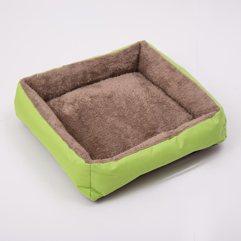 B MARCU HOME Pet Bolster Dog Bed Comfort Cloth Small Kennel Cat's Nest, 40  40cm (color   B)