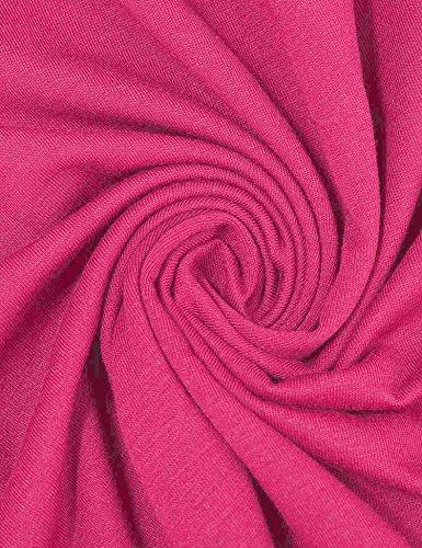 Soire Rose Vintage Vessos Cocktail Sans V Dentelle Robe de Mnaches Manches Femme Ou Longues 6POwAq6Tx