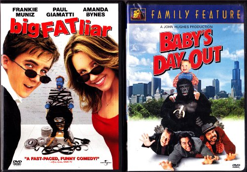 Baby's Day Out , Big Fat Liar : Family Movie Night 2 Pack