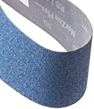"Norton 07660703995 3X High Performance Portable Abrasive Belt, Cloth Backing, Zirconia Alumina, 21"" Length x 3"" Width, Grit 50 Coarse (Pack of 10): more info"