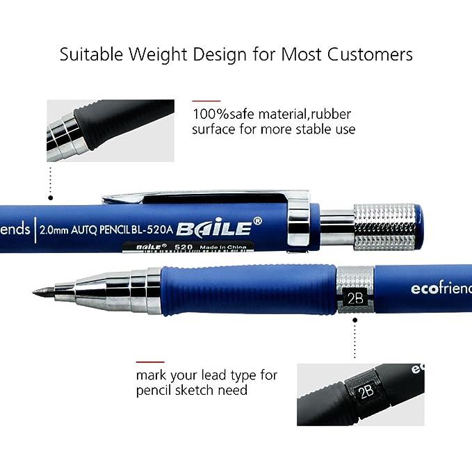Minen für Zirkel und mechanische automatische Bleistifte zum   !K 2B 2mm Minen