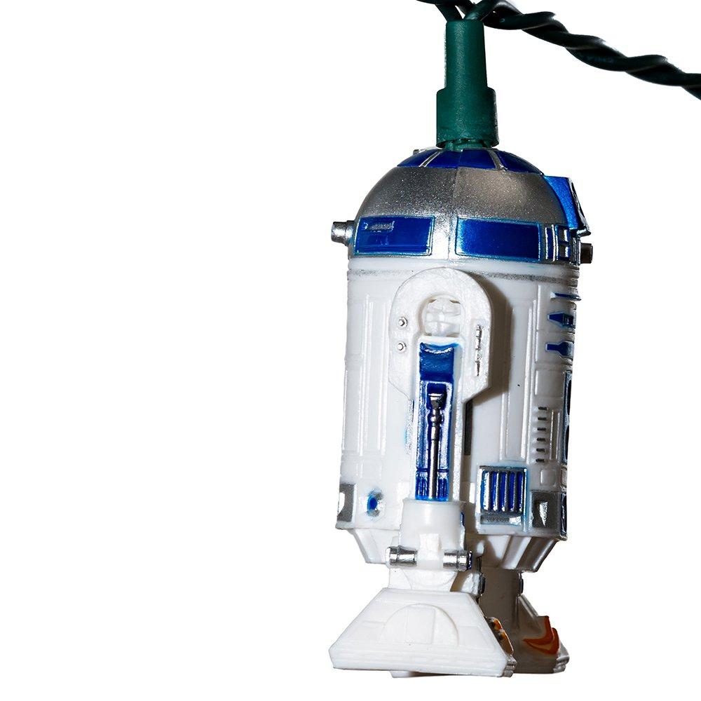 Amazon.com: Kurt S. Adler 10-Light Star Wars R2D2 Light Set: Home ...