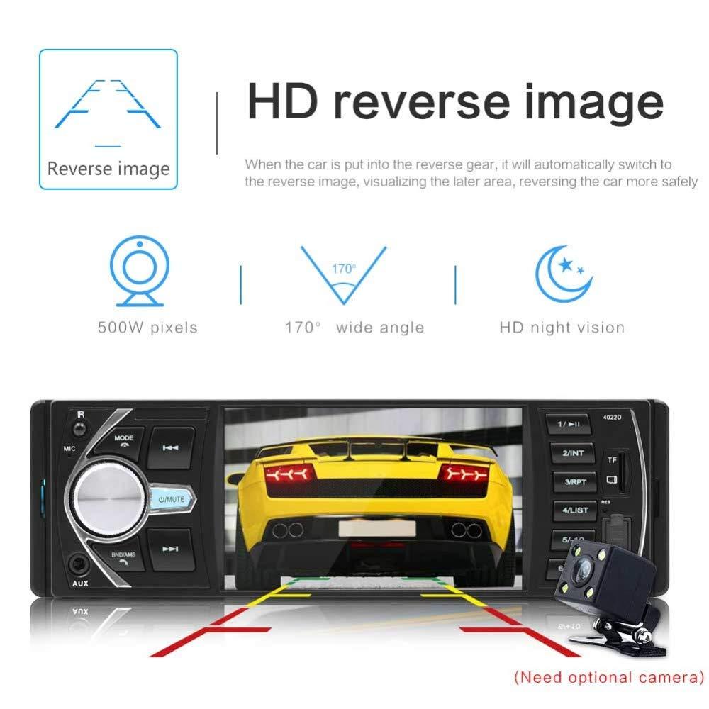 podofo Radio Coche Auto Estéreo Bluetooth Auto Audio Estéreo ...