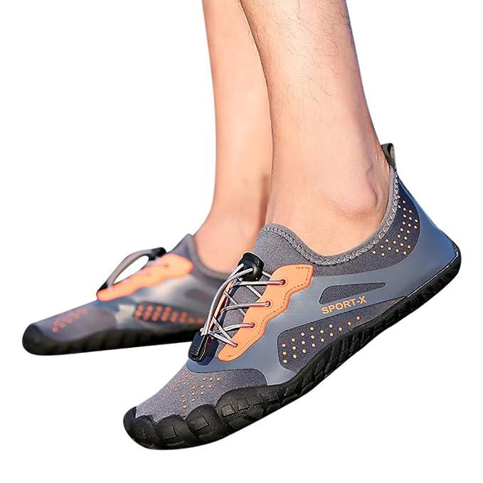 Btruely Zapato de Agua Zapatos de Playa Escarpines Calzado de Playa Surf para Hombre Mujer Zapatillas para Buceo Snorkel Surf Piscina Playa Calcetines de ...