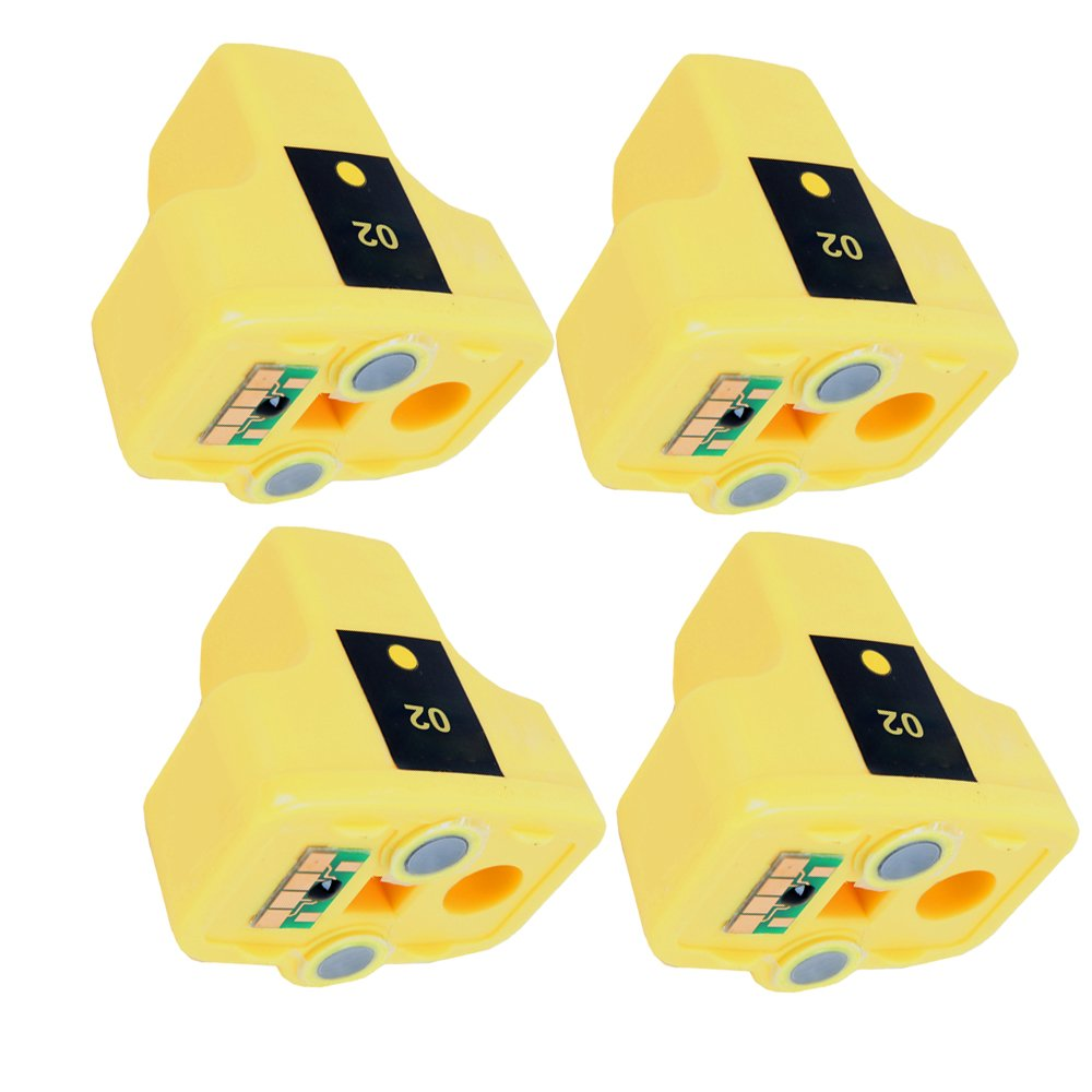 Yellow Compatible Ink Cartridge for hp 02XL C8773WN