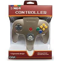 CirKa N64 Controller: Gold for Nintendo 64