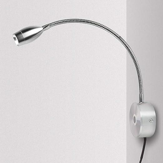 Lampe Chevet Murale Tactile Dimmable Applique Liseuse Led Col De