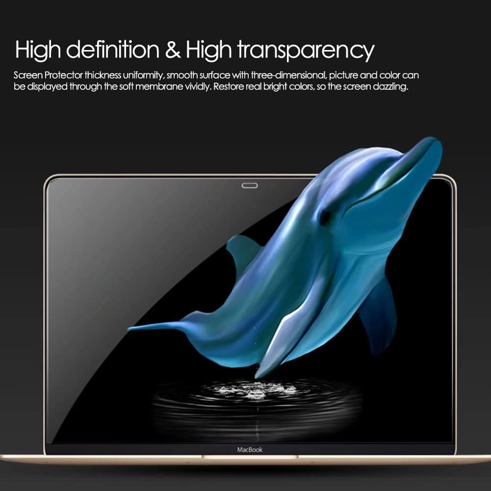 for Air 13.3 A1369 and A1466 MacBook Air 13 inch Screen Protector Maeco Matte Anti Scratch Screen Protector Prime PET Material and Constructed in Five Layers