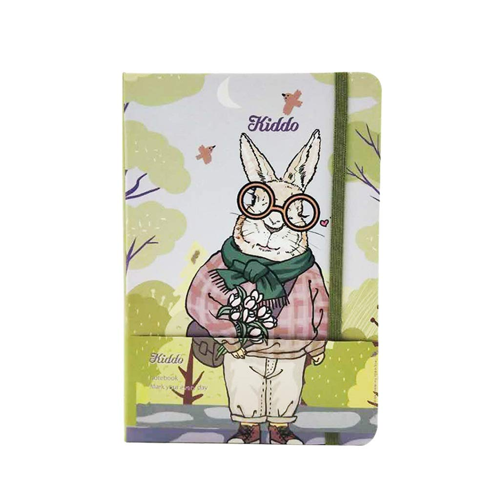FS A5 Notepad, Cute Cartoon Notebook, Female Birthday, is The Best Gift for Children,Writing Will Not Penetrate (Color : N) by FSBJB