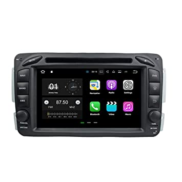 """bocid 7 """"Android 7.1 Radio de coche GPS Jefe Unidad de DVD para Mercedes"""