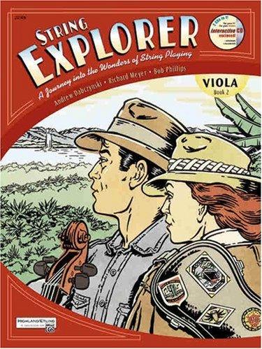 (String Explorer, Bk 2: Viola, Book & Interactive CD)