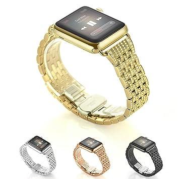 Kartice para Apple Watch Banda, aleación cristal Rhinestone Diamon ...