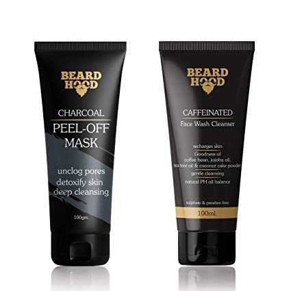 Image result for Beardhood Caffeine Face Wash Cleanser