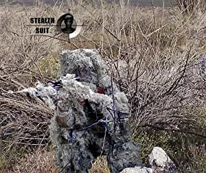 StealthSuit Paintball Sniper 4-Piece Desert Ghillie Suit - ML