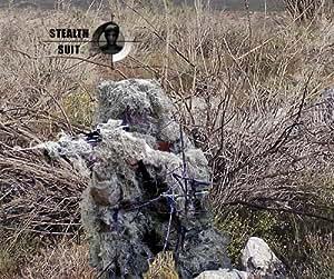 Paintball Sniper 4-Piece Desert Ghillie Suit - ML