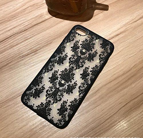Funda iPhone 6 Plus/6S Plus,Alta Calidad Ultra Slim Anti-Rasguño y Resistente Huellas Dactilares Totalmente Protectora Caso de Plástico Cover Case Adecuado para iPhone 6 Plus/6S Plus,Patrón hueco LD08