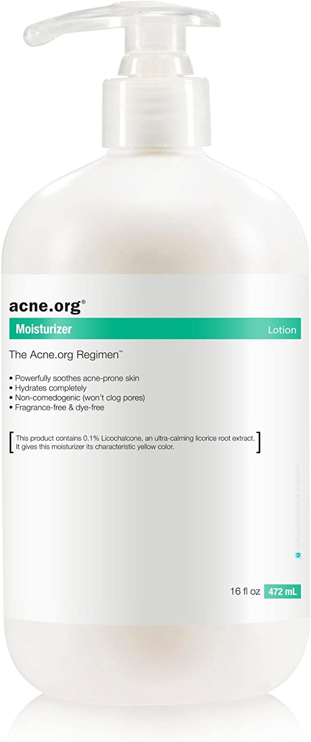 Acne.org 16 oz. Moisturizer with Licochalcone