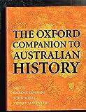 The Oxford Companion to Australian History 9780195535976