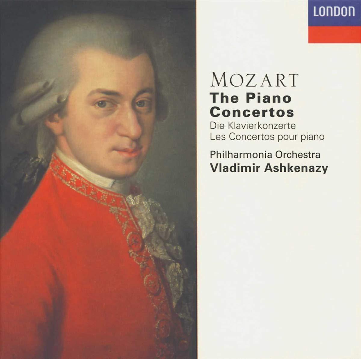 Klavierkonzerte 1-27 (Gesamtaufnahme) - Vladimir Ashkenazy, Wolfgang  Amadeus Mozart: Amazon.de: Musik