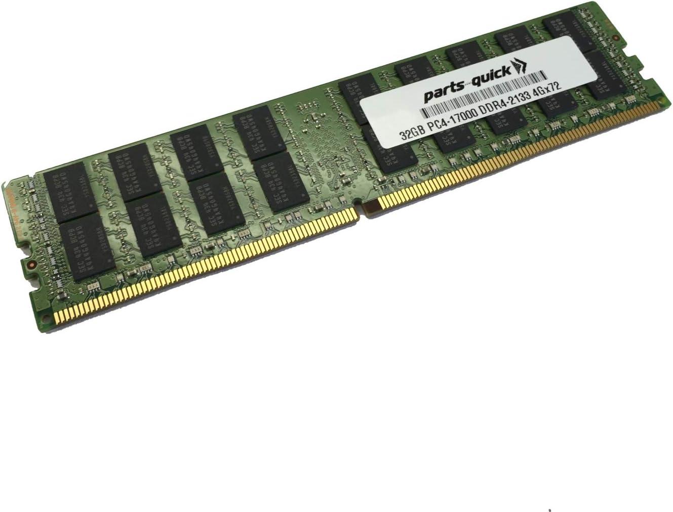 32GB Memory for Acer Veriton P330 F3 DDR4 2133 MHz ECC RDIMM PARTS-QUICK Brand