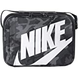 Amazon.com: Nike BOYS Negro Swoosh Insulated Lunch Box ...
