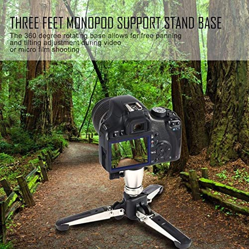 Universal 1//4 3//8 Screw Tripods Monopod Support Stand Base Universal Stand Monopod for DSLR Camera