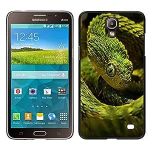 EJOY---Cubierta de la caja de protección para la piel dura ** Samsung Galaxy Mega 2 ** --Enfriar verde de neón de la serpiente