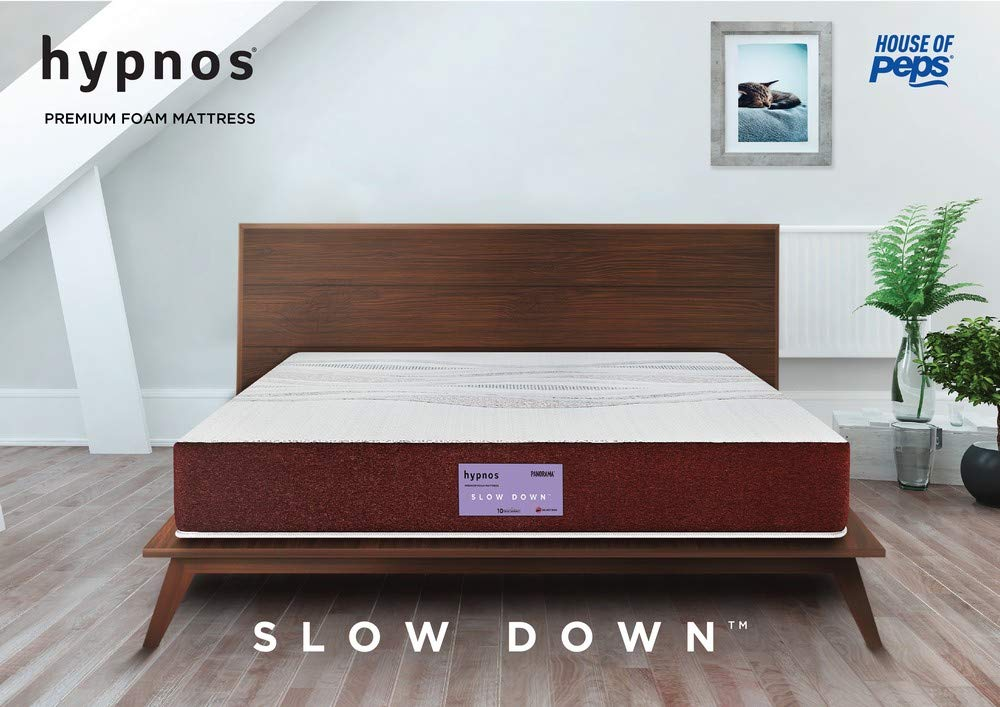 Hypnos Panorama Soft Top Memory Foam Mattress Maroon 75X60X08