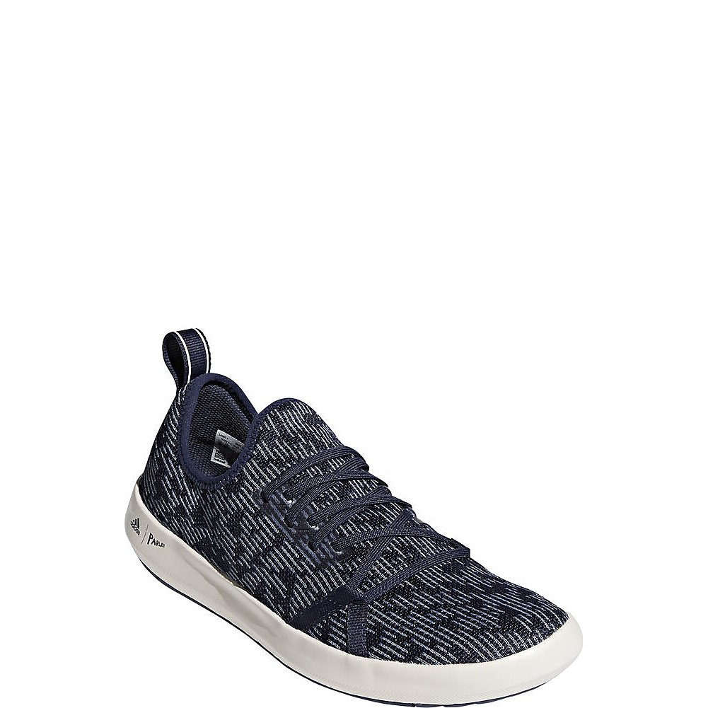 Trace blå  Raw grå  Chalk vit adidas adidas adidas Sport Performance herrar Terrex CC Boat Parley skor  ny sadie