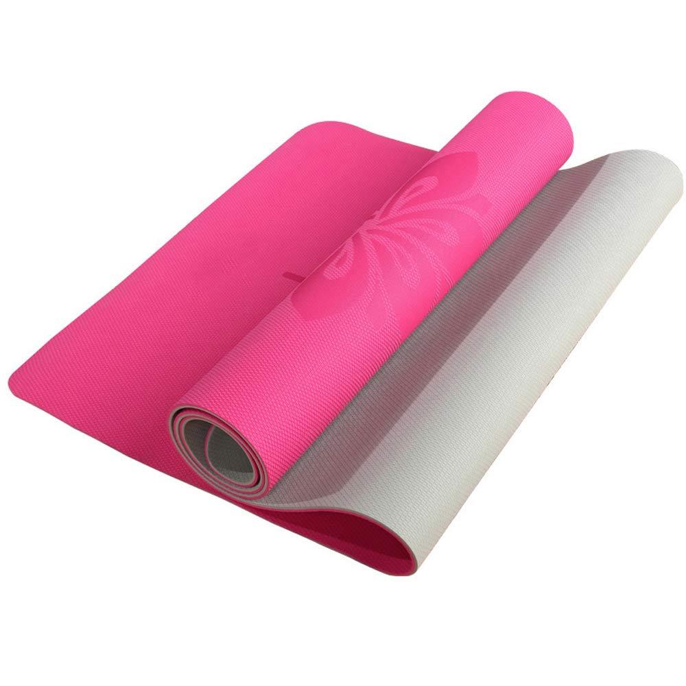 Yuan Alfombra de Yoga - Antideslizante TPE Yoga Mat, Yoga ...