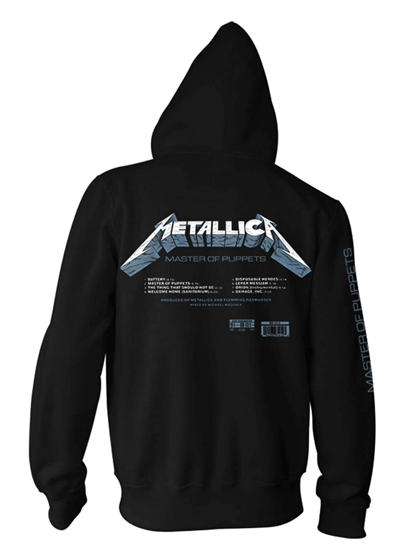 Metallica Master of Puppets James Hetfield Oficial Sudaderas Capucha Hombre: Amazon.es: Ropa y accesorios