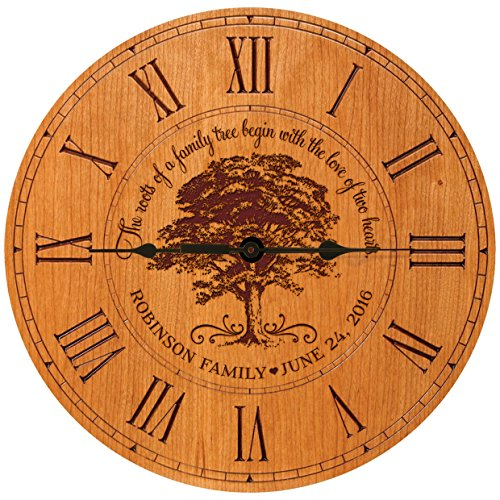 personalized wall clock - 8
