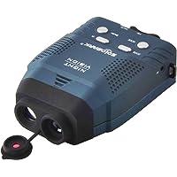 Solomark 3x14 Appareil de vision nocturne numérique, Illuminateur monoculaire de nuit, infra-rouge bleu Permet une vision dans l'obscurité d'images et vidéos