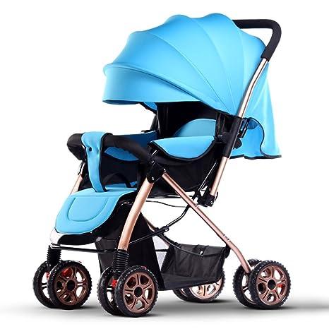 Carro de bebé Niño Los cochecitos Pueden Sentarse Mentira Luz portátil Doblar Cuatro Estaciones Universal Bebé